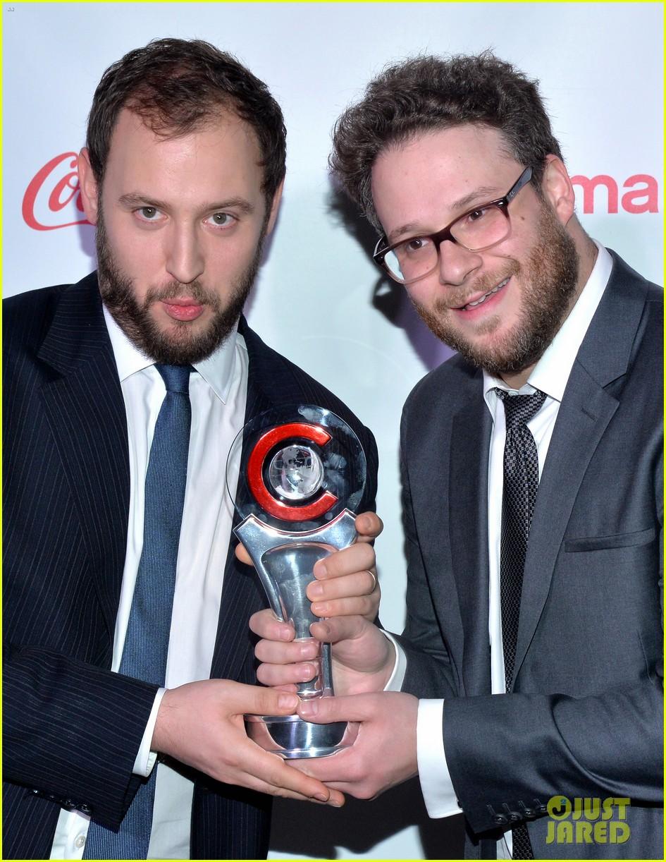 chris pratt seth rogen leslie mann cinemacon awards 263080271