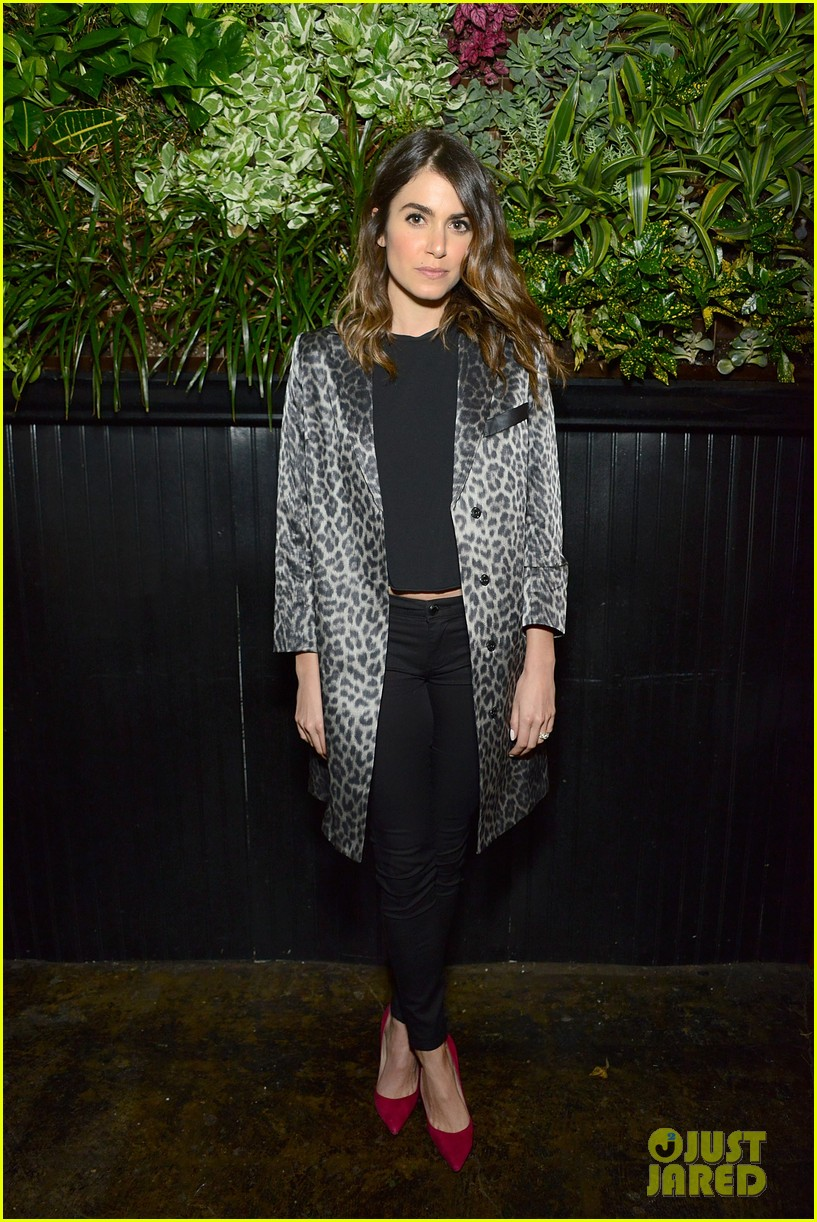 nikki reed jessica lowndes attend blanknycs celebration at goldies 02