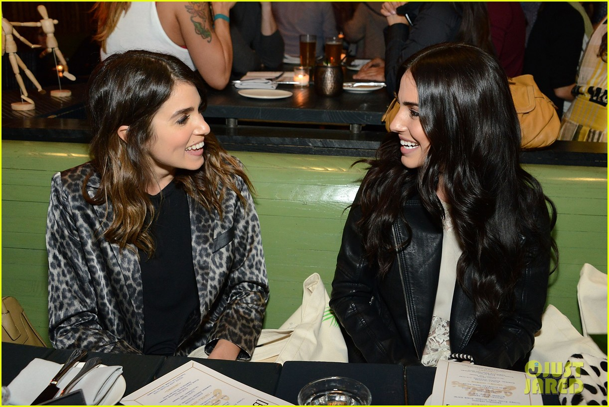 nikki reed jessica lowndes attend blanknycs celebration at goldies 12