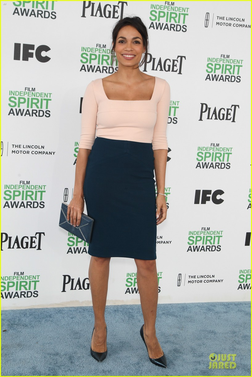 rosario dawson stunning presenters at independent spirit awards 2014 01