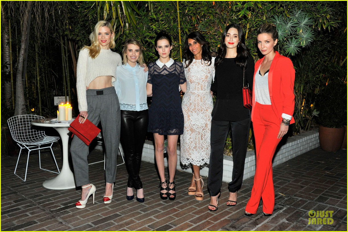 emmy rossum jaime king sandro paris celebration 26