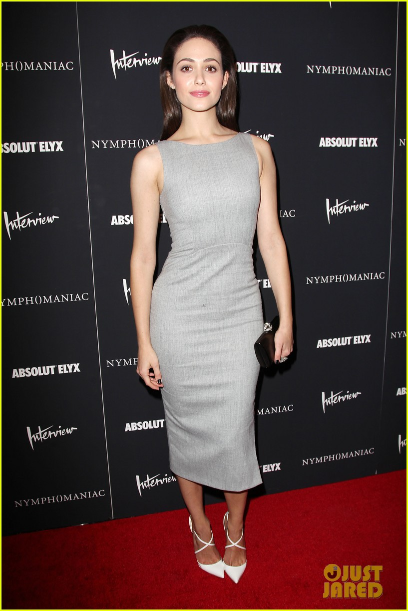 emmy rossum supports uma thurman nymphomaniac premiere 23