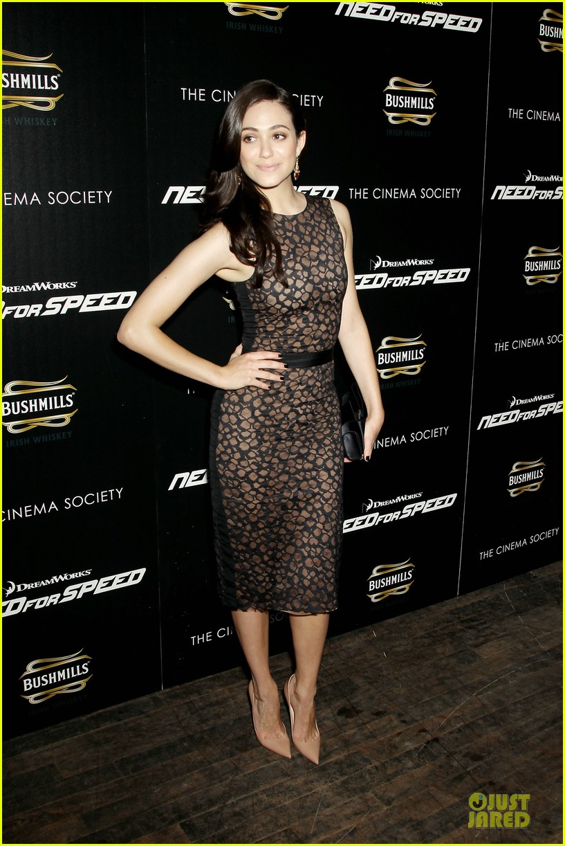 emmy rossum has a sexy need for speed in nyc 11