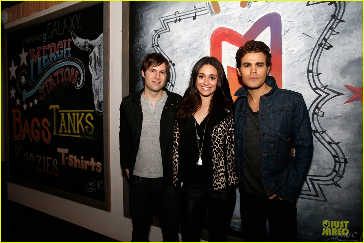 emmy rossum paul wesley premiere before i disappear at sxsw 08