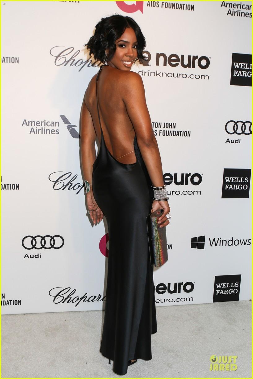 kelly rowland skylar grey heat up elton john oscars party with revealing dresses 033065010