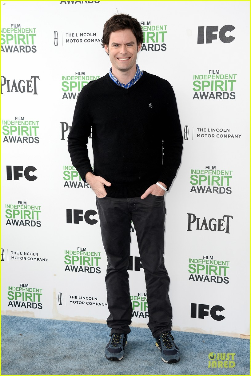 andy samberg bill hader expressive presenters at independent spirit awards 2014 03