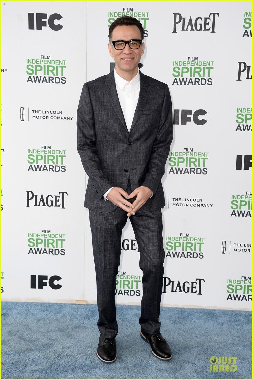 andy samberg bill hader expressive presenters at independent spirit awards 2014 05
