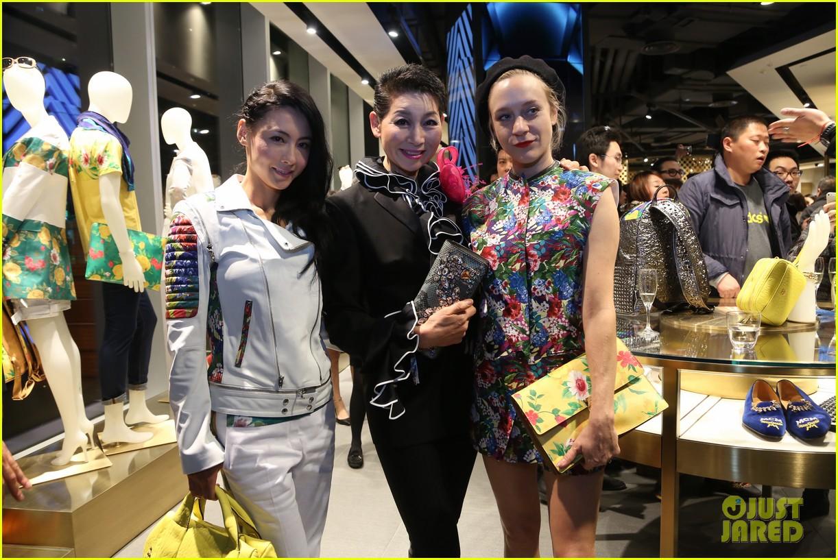 chloe sevigny mcm shanghai opening 05