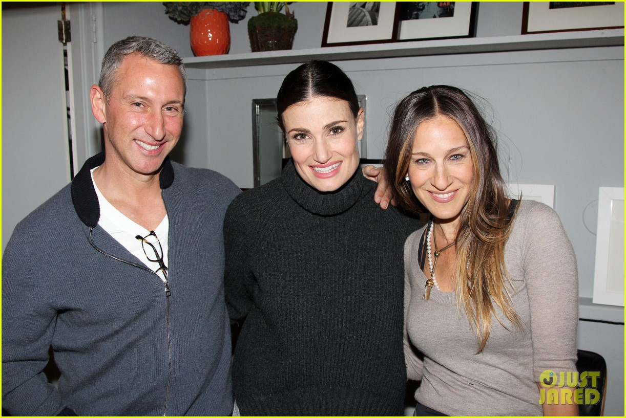 sarah jesssica parker idina menzel if then broadway 023080010
