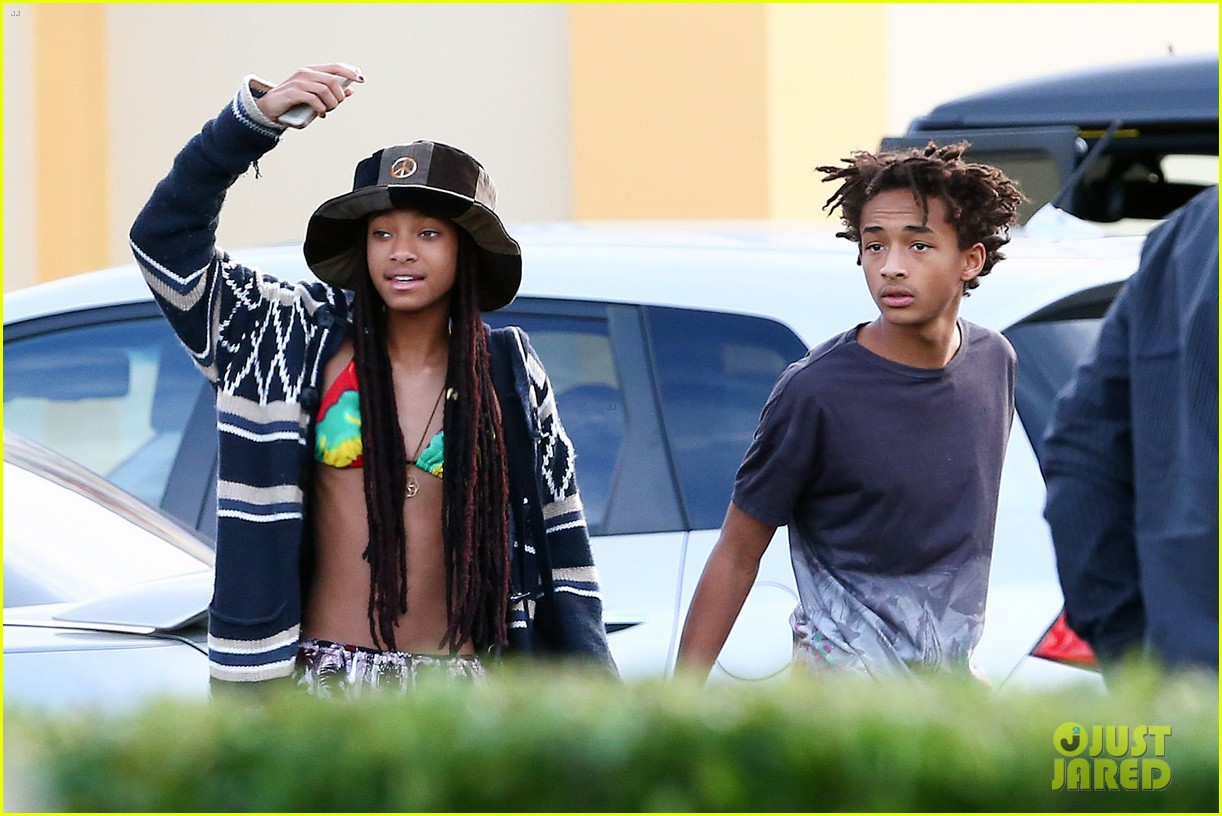willow smith wears bikini top for sushi dinner 103069272