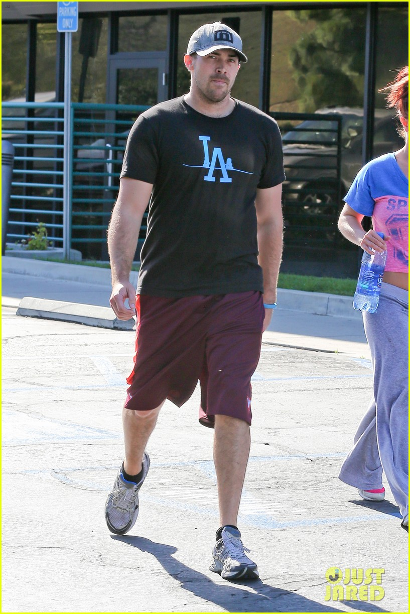 britney spears boyfriend david lucado sweat it out together 263070786