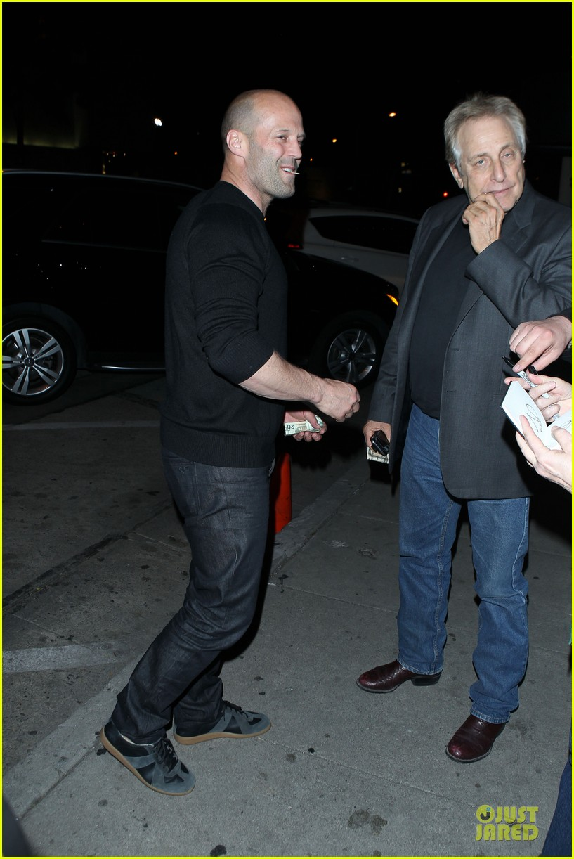 jason statham sylvester stallone dinner at craigs 13