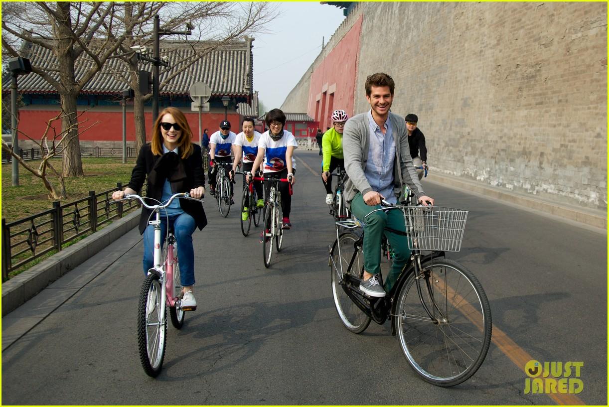 emma stone andrew garfield keep touring asia continue being the cutest couple 113078923