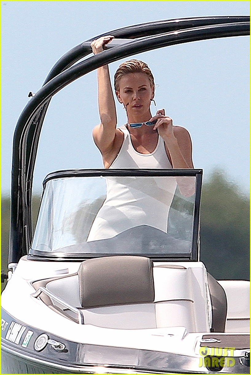 charlize theron bares her bikini body for miami photo shoot 10