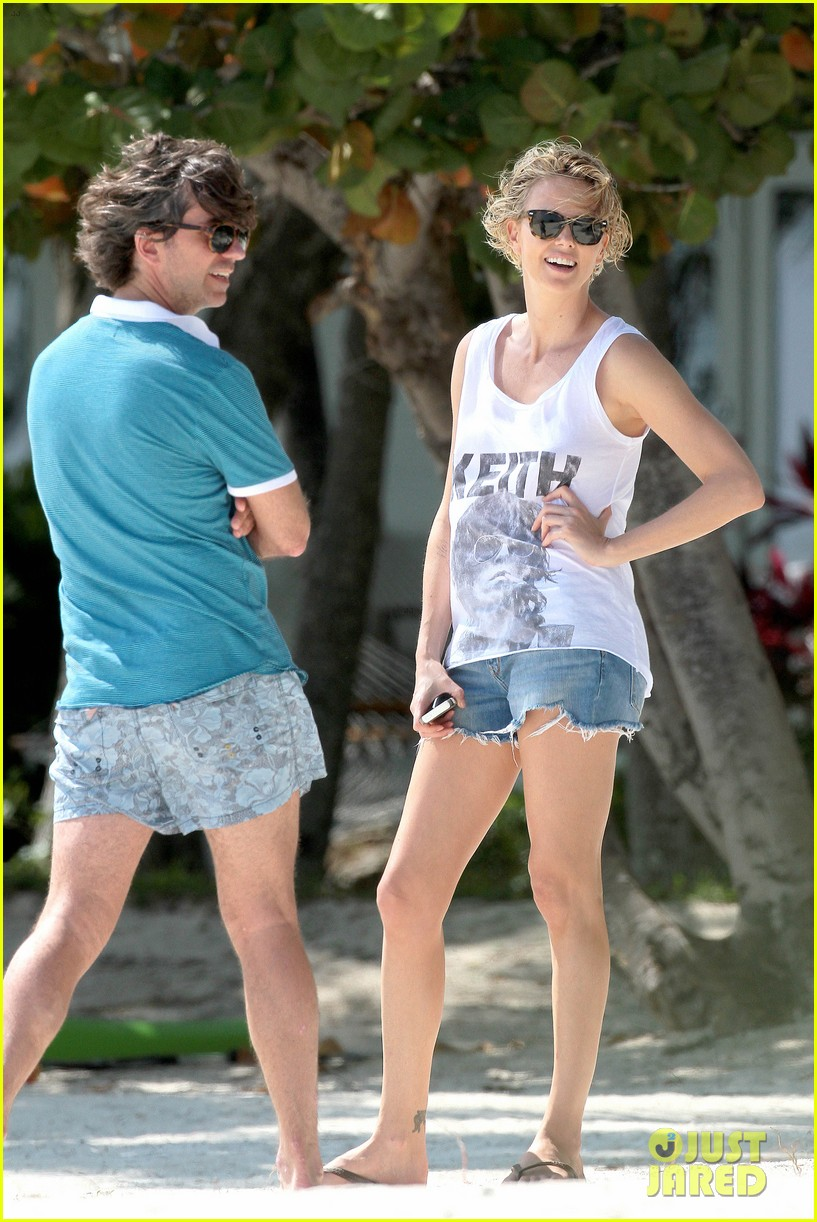 charlize theron bares her bikini body for miami photo shoot 153074907
