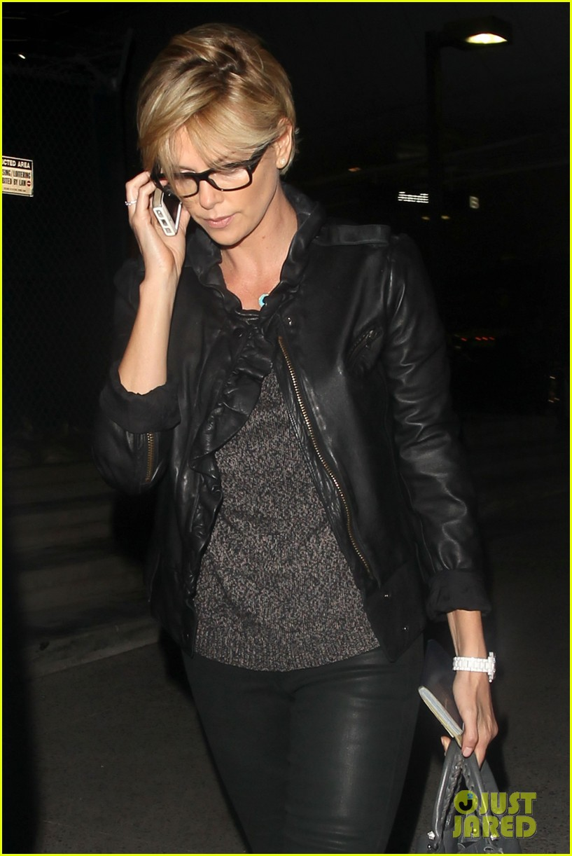 charlize theron keeps working out a priority before heading out of town 02