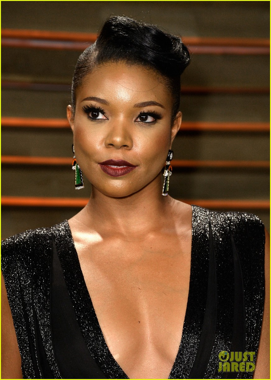 gabrielle union calls lupita nyongo perfection before vanity fair oscars party 2014 01
