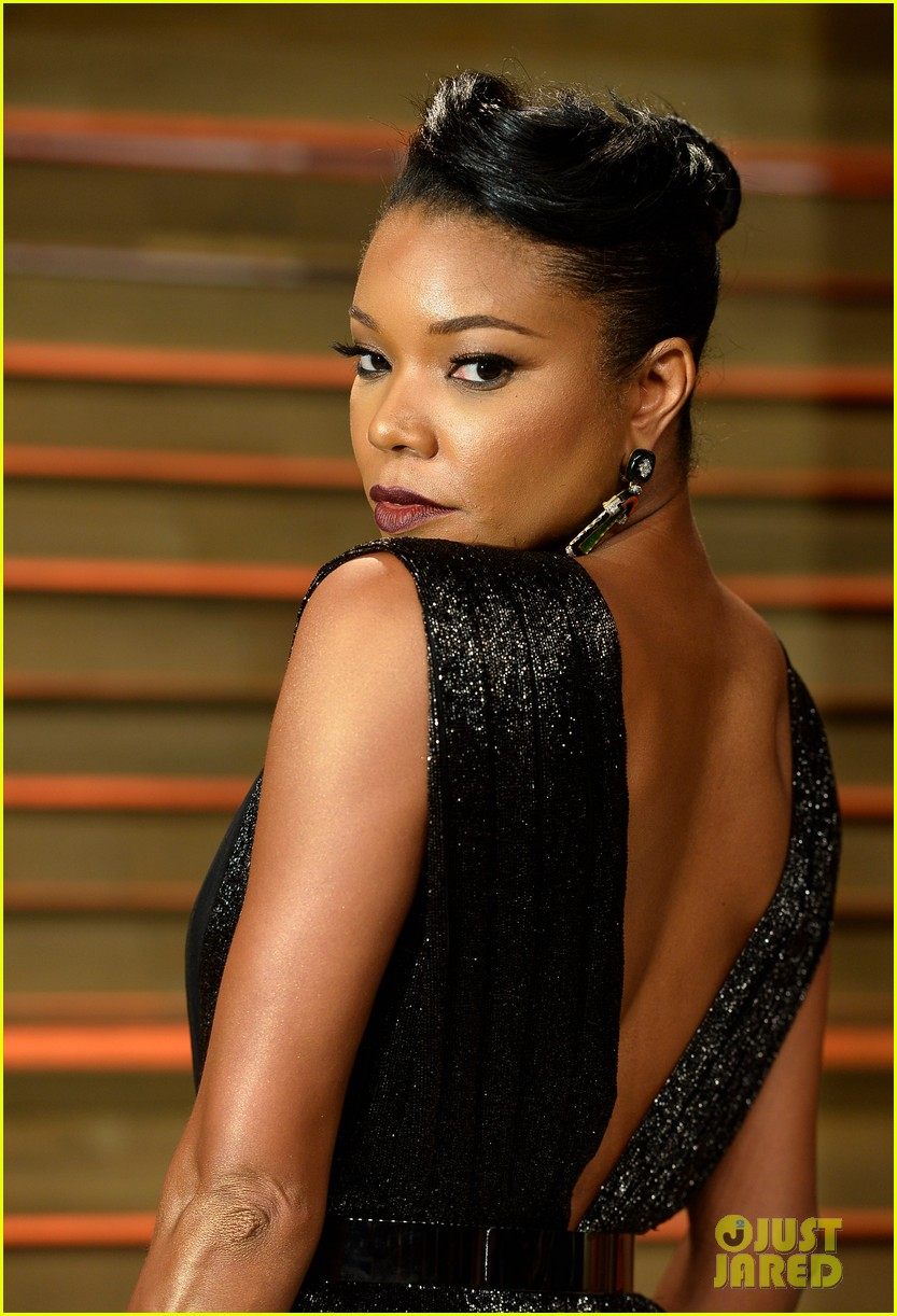 gabrielle union calls lupita nyongo perfection before vanity fair oscars party 2014 043064375