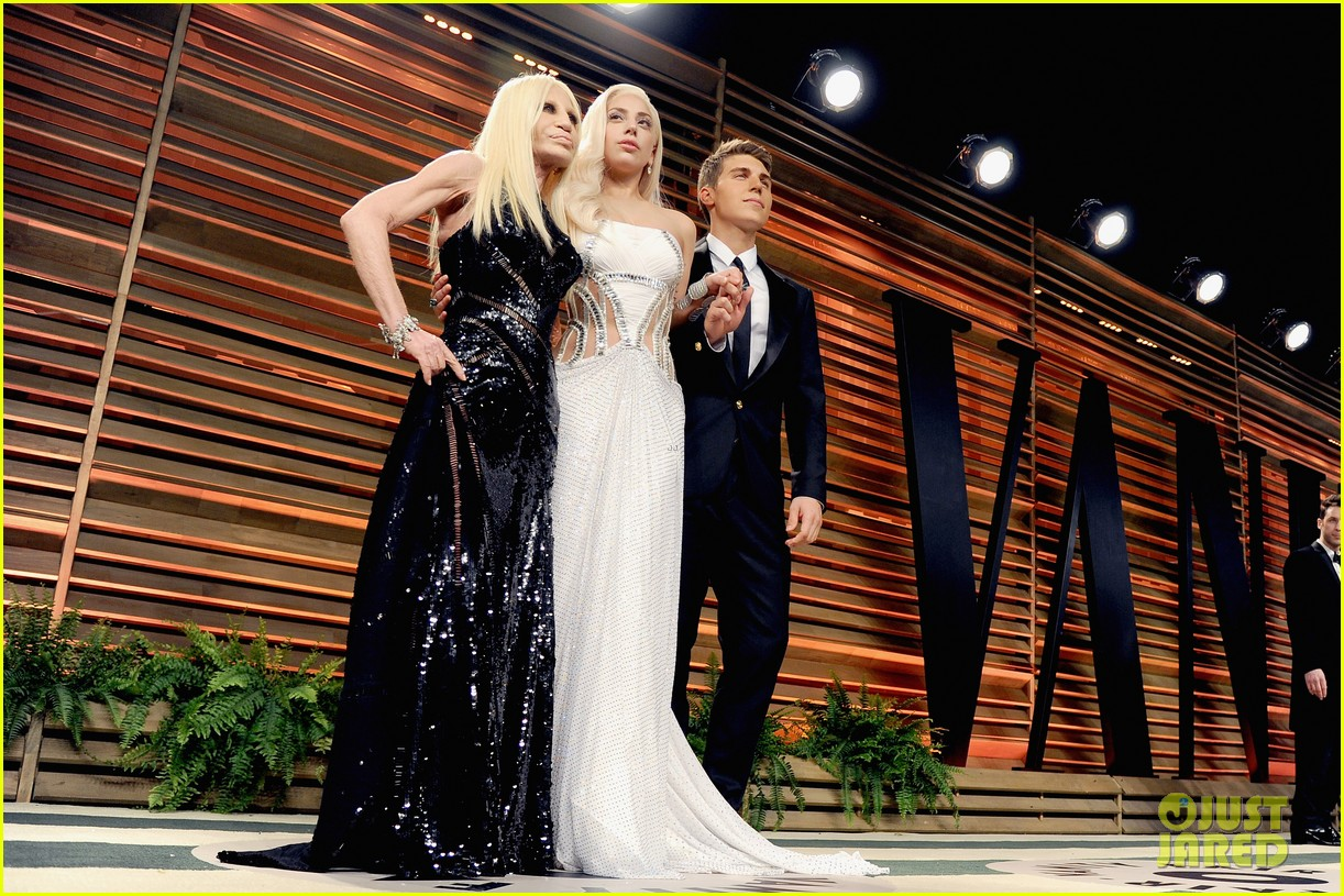 donatella versace vanity fair oscars party 2014 with lady gaga nolan gerard funk 053064780