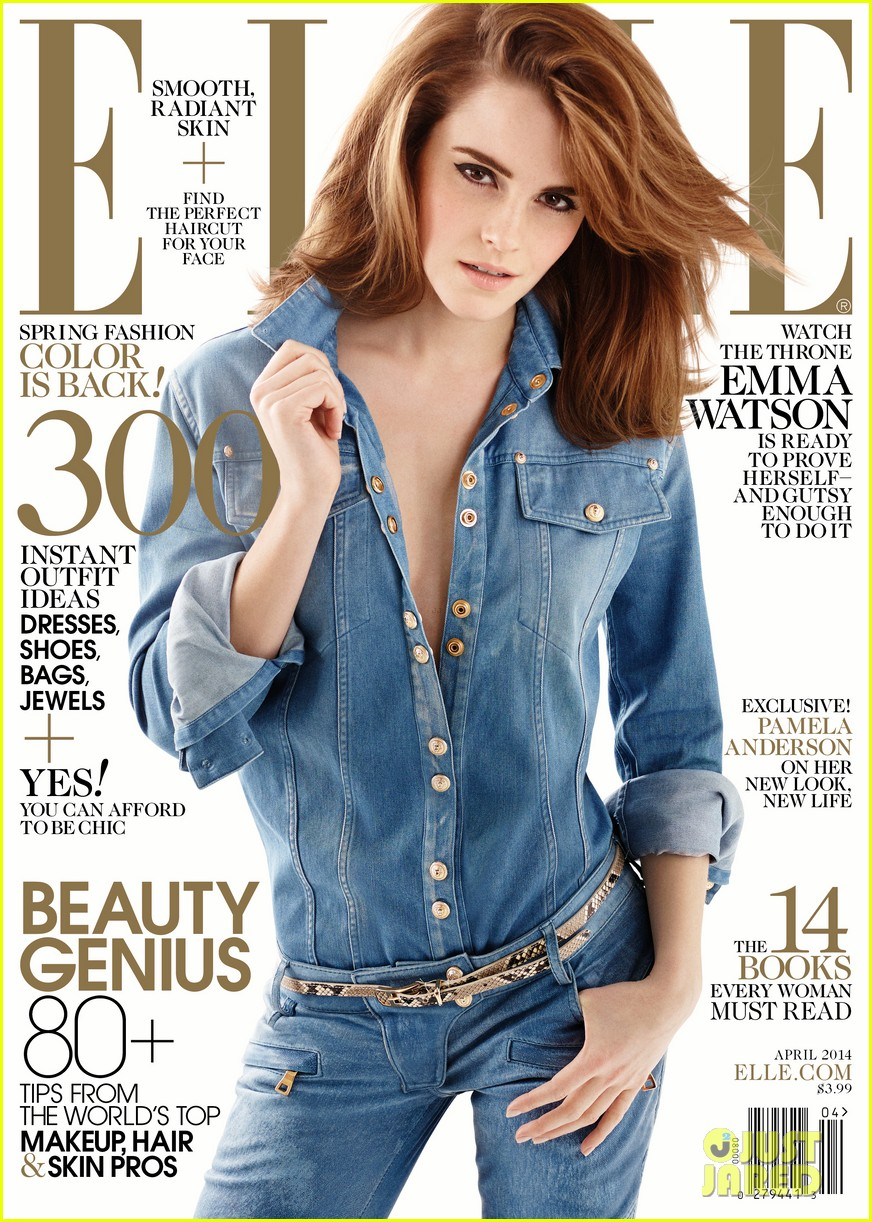 emma watson covers elle april 2014 013071190