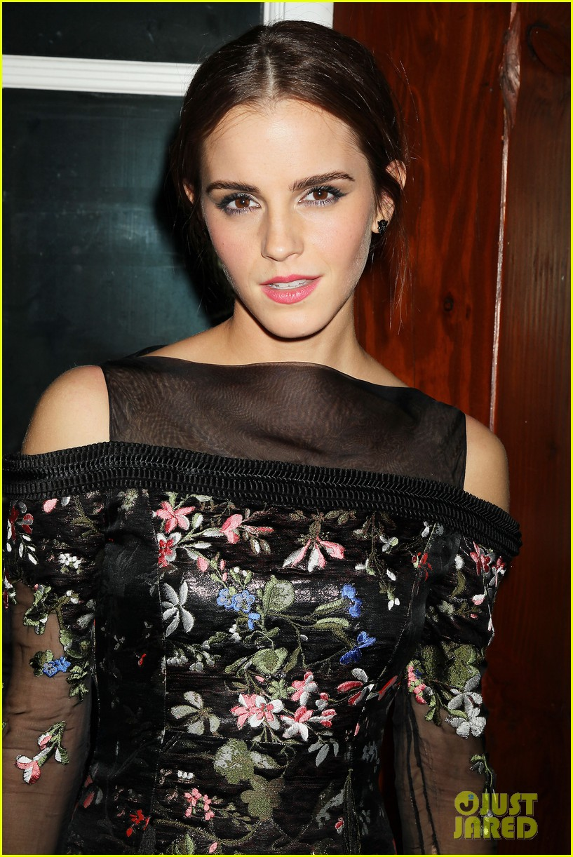 emma watson floral fierce noah nyc after party 15