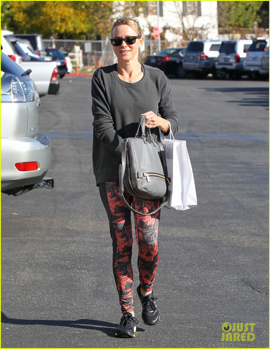 naomi watts is spin class ready in brentwood 06