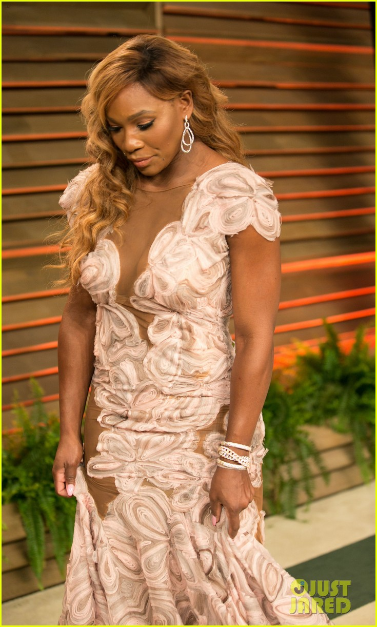 serena williams vanity fair oscars party 2014 05