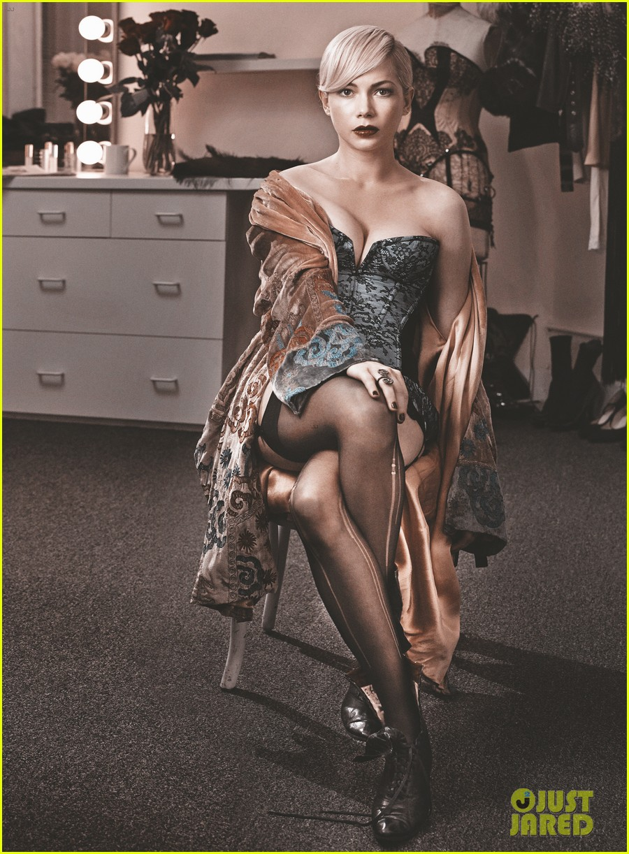 michelle williams cabaret vogue