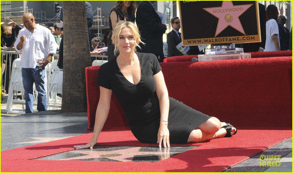 kate winslet shailene woodley hollywood walk of fame 053073489