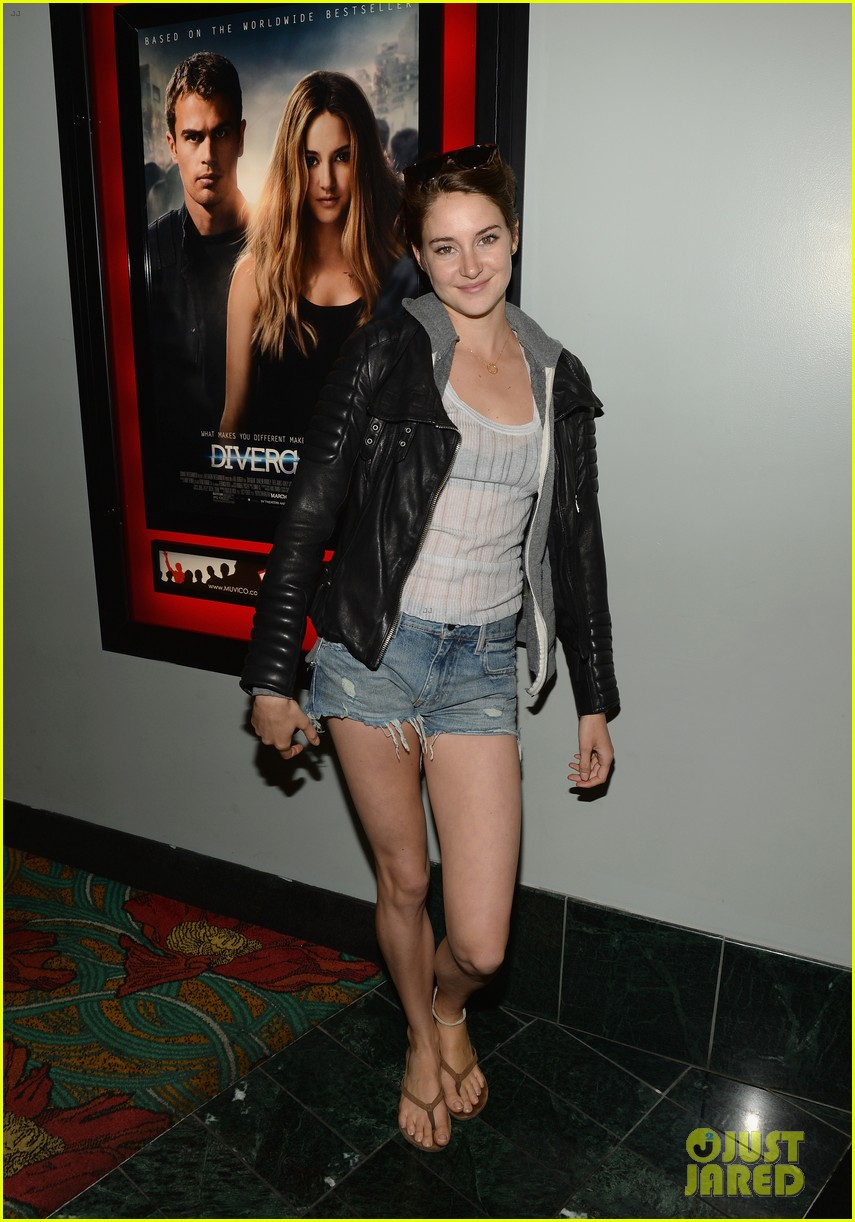 shailene woodley theo james all it takes divergent screening 033073777