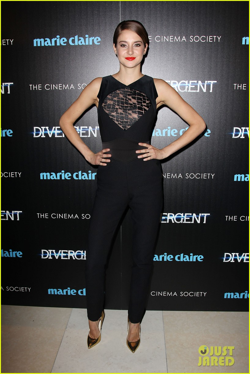shailene woodley theo james divergent nyc screening 053075654