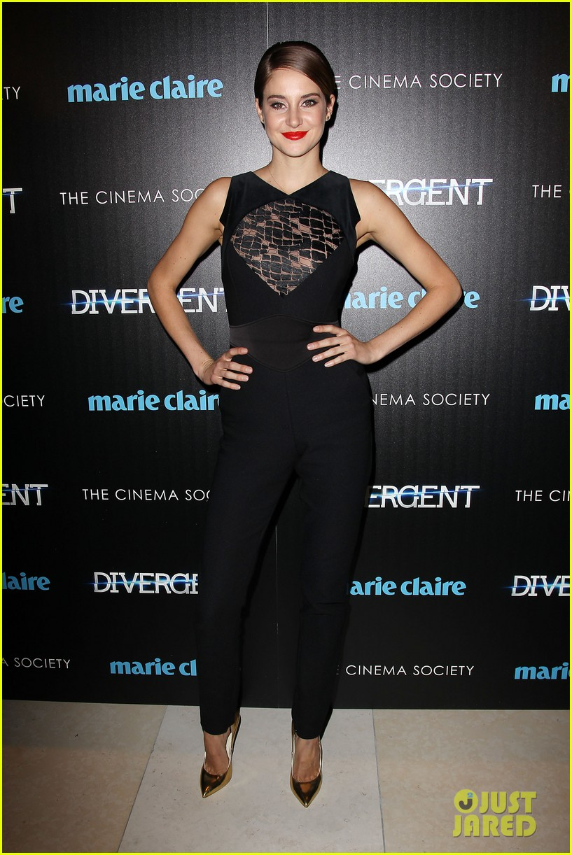 shailene woodley theo james divergent nyc screening 19