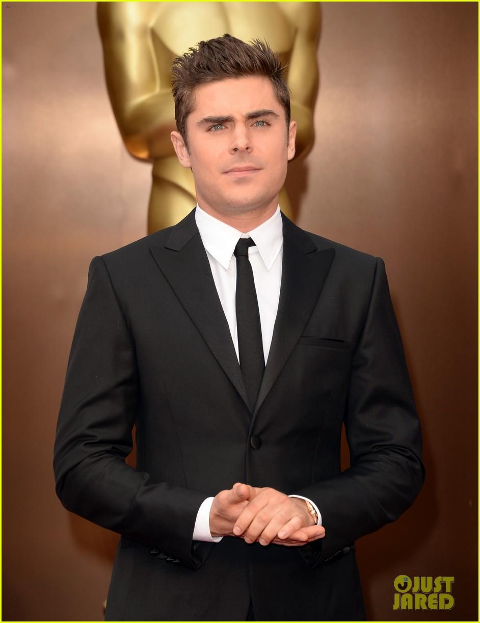 Zac Efron - Oscars 2014 Red  Zac Efron 2014 Oscars