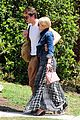 dianna agron gets cozy with thomas cocquerel at lunch 07