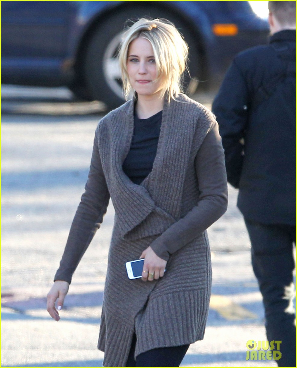 dianna agron first day on tumbledown has her in two cute outfits 043086964