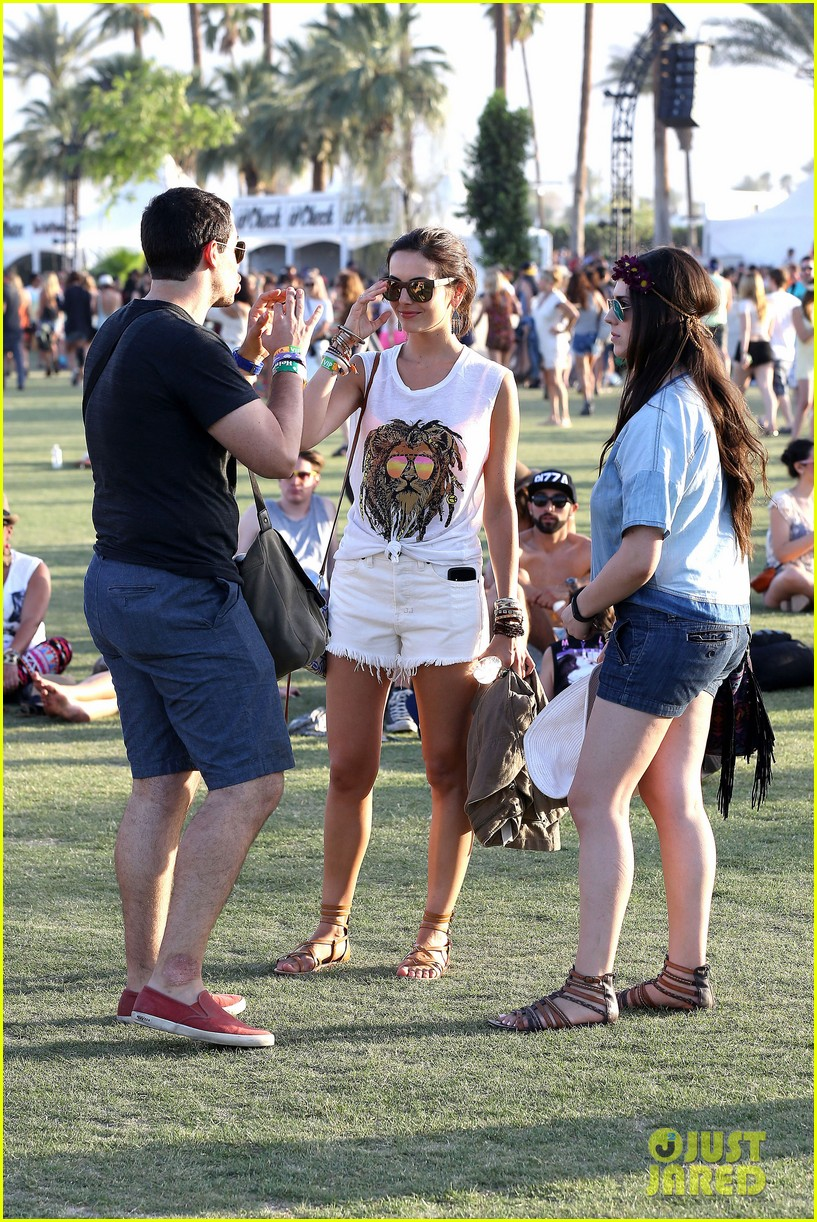 camilla belle rocks out at coachella 18