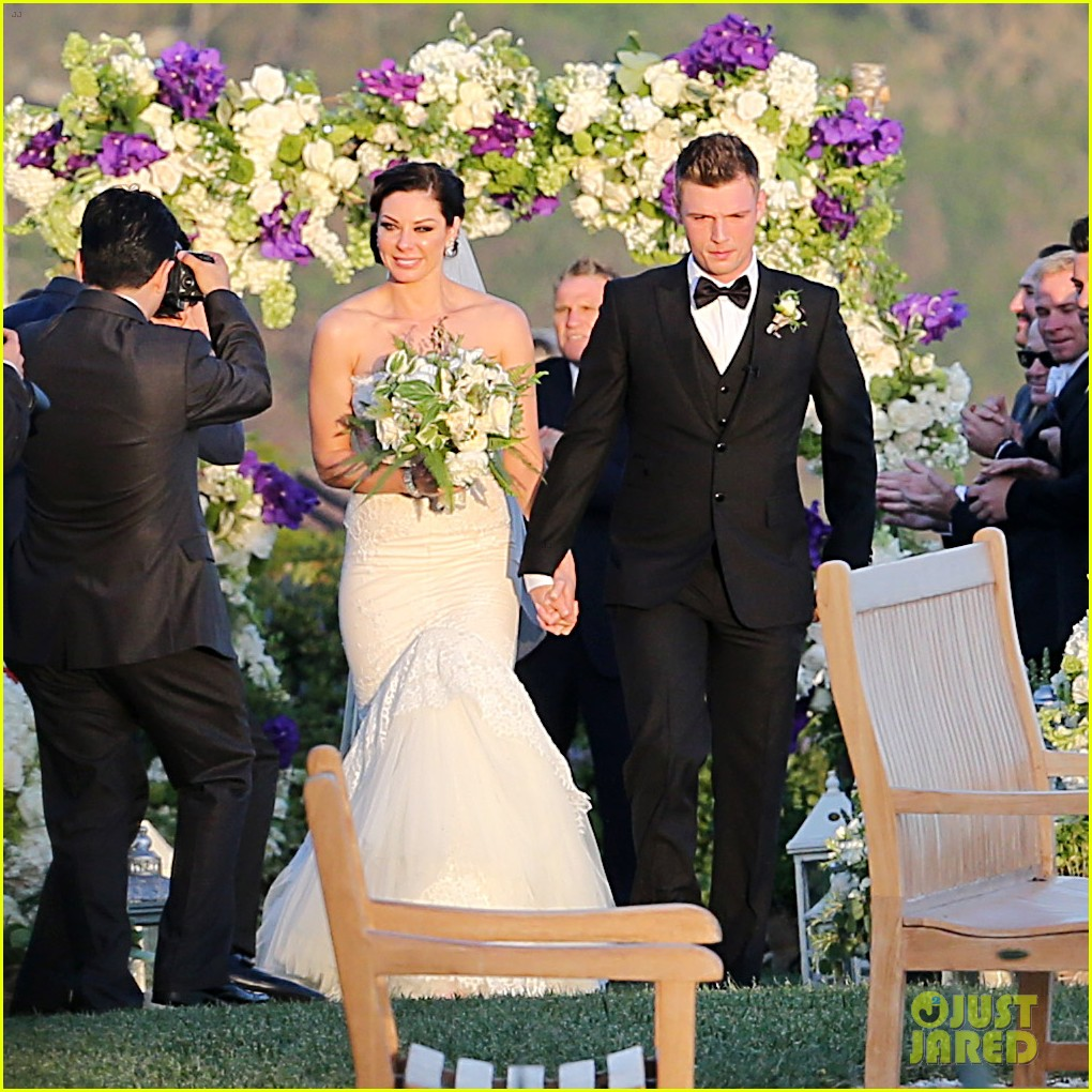 backstreet boys nick carter is married wedding photos 033090081