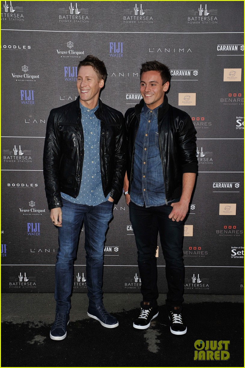 tom daley dustin lance black attend first event as a couple 06