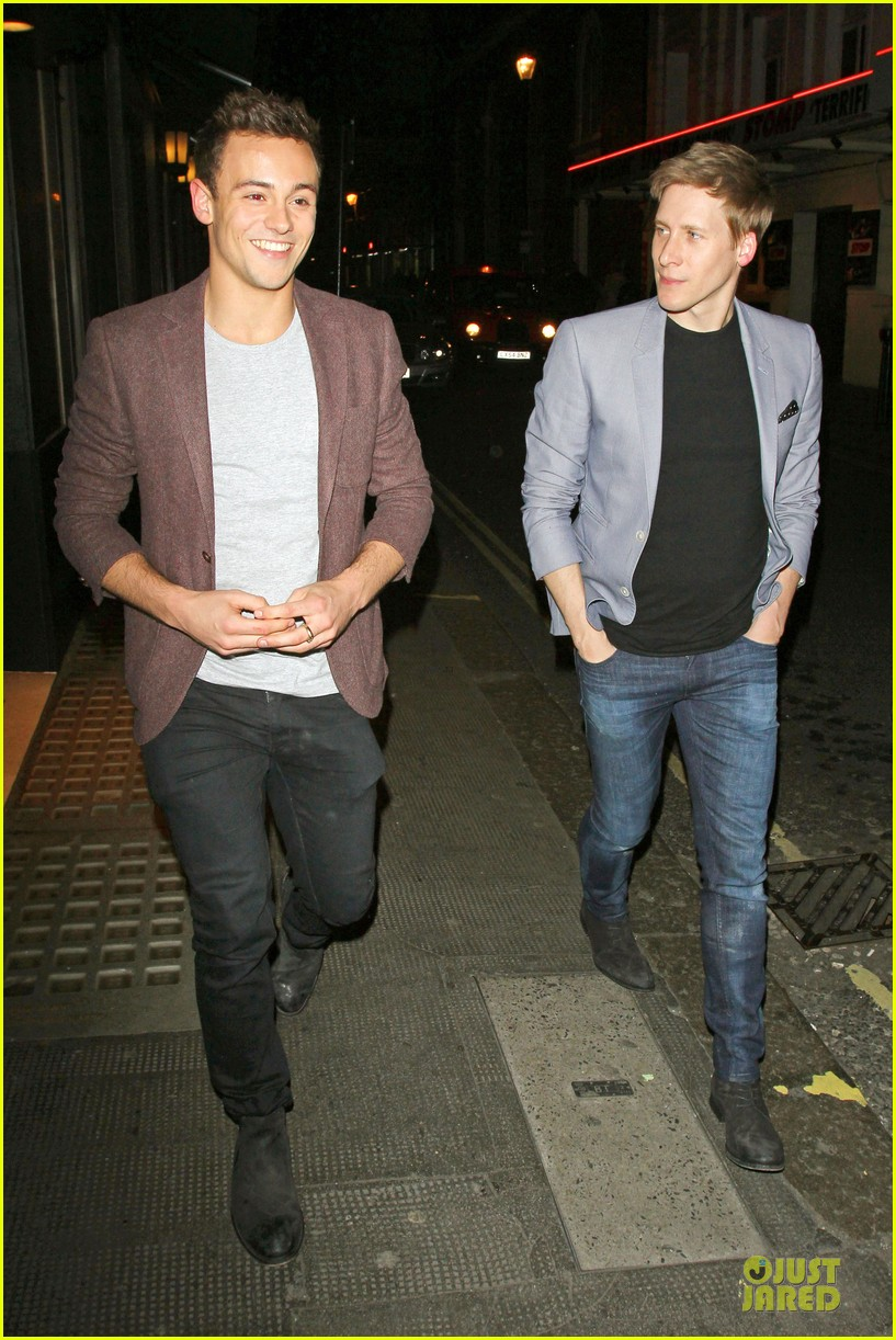 tom daley dustin lance black dress to impress for date 013083004