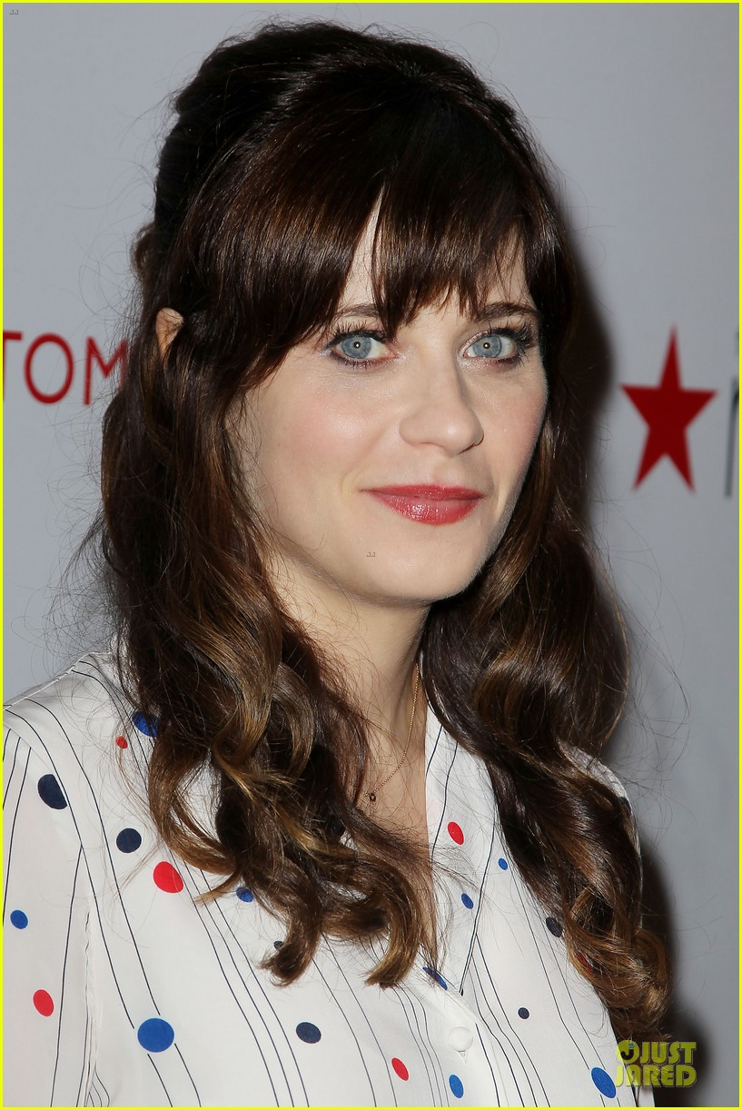 zooey deschanel tommy hilfiger collection launch 10