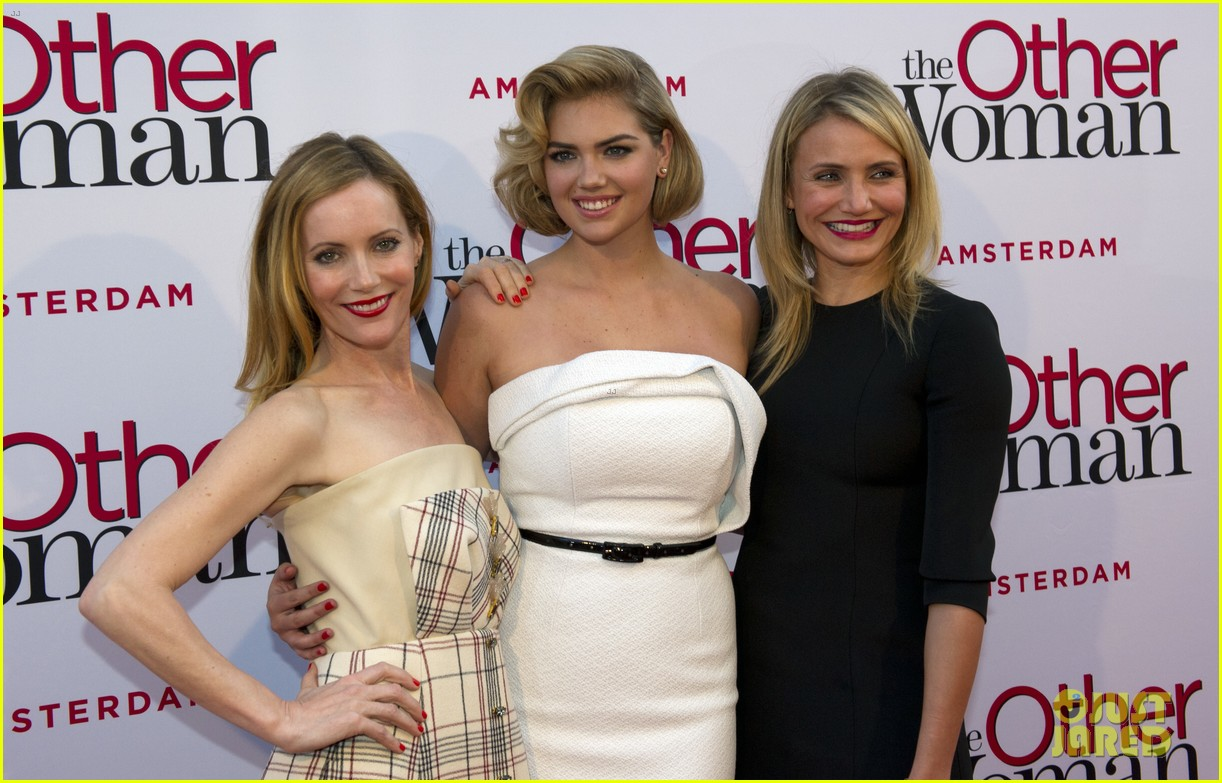 cameron diaz gets glam with kate upton leslie mann for the other woman 01