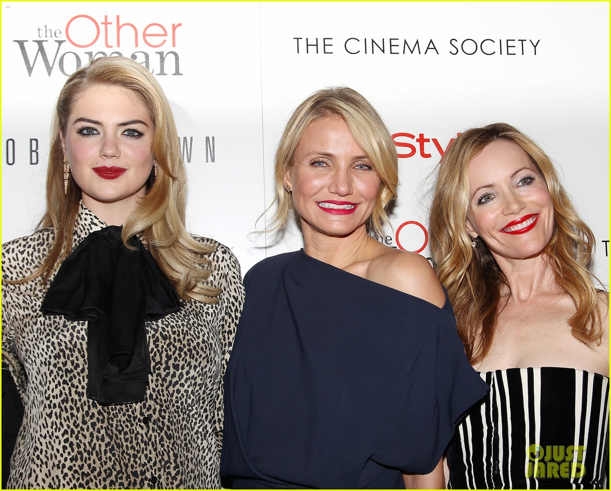 cameron diaz leslie mann kate upton final other woman screening 20