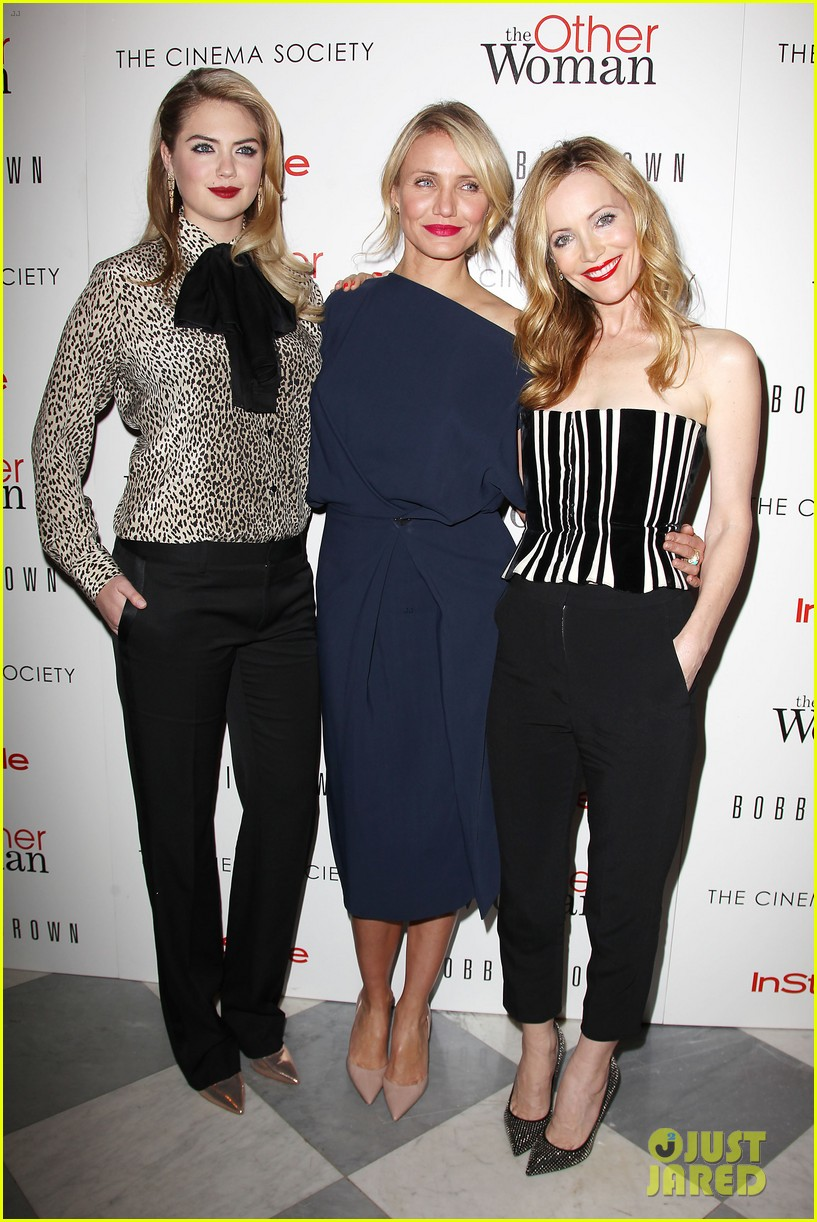 cameron diaz leslie mann kate upton final other woman screening 253098813