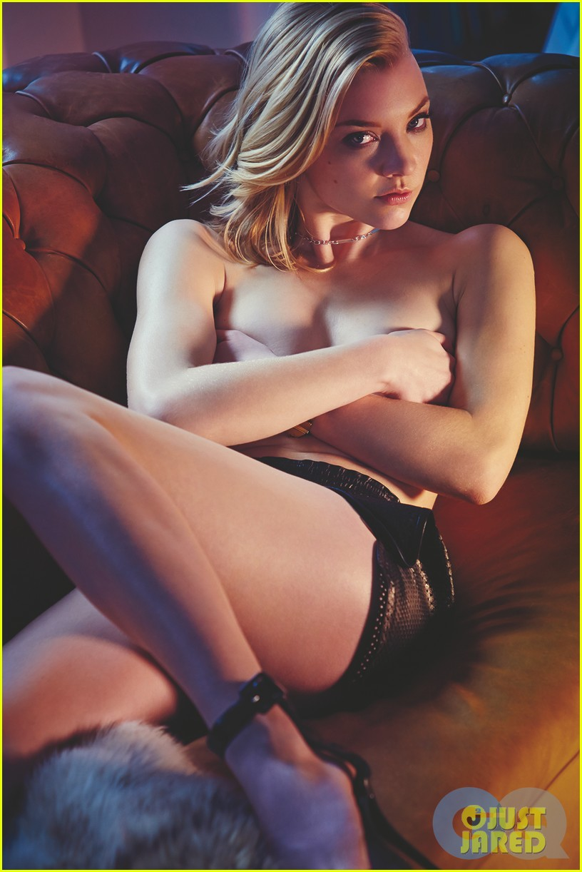 game of thrones natalie dormer poses topless for gq 033083359