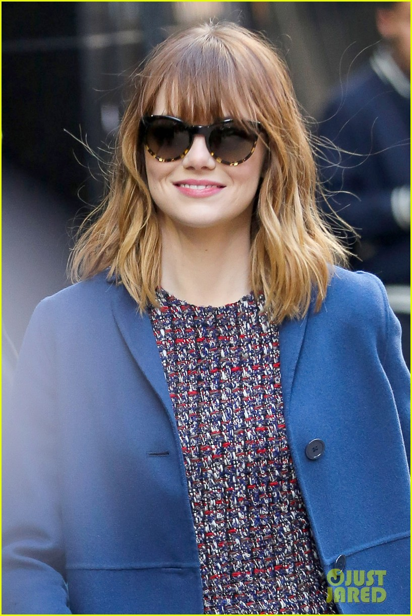 emma stone andrew garfield join amazing spider man 2 cast at gma 02