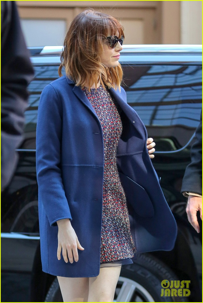 emma stone andrew garfield join amazing spider man 2 cast at gma 07