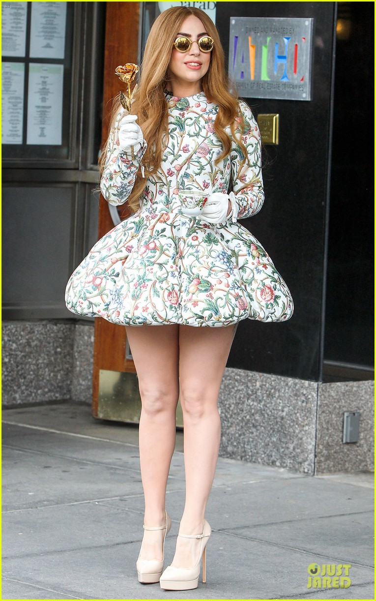lady gaga musical talents at letterman 073083488
