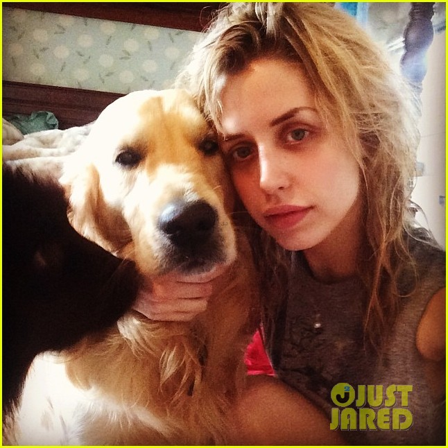 peaches geldof adorable moments with kids 07