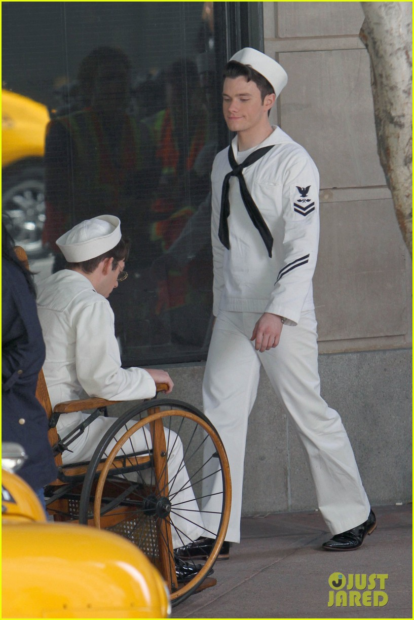 glee guys transform into super hot sailors check out their vintage fleet week looks 14
