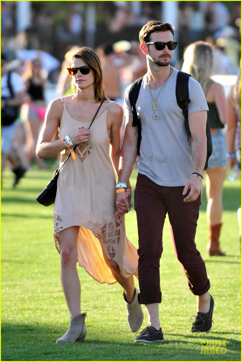 ashley greene paul khoury first coachella together 09
